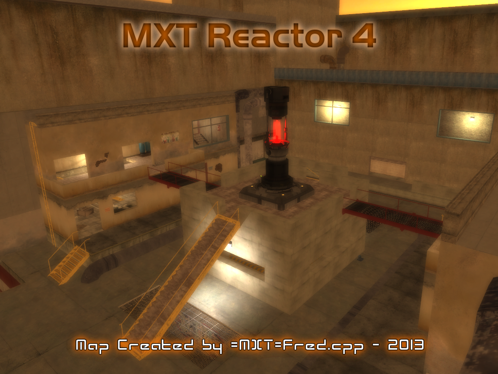 MXT Reactor 4 - FEAR Combat Map / 2013