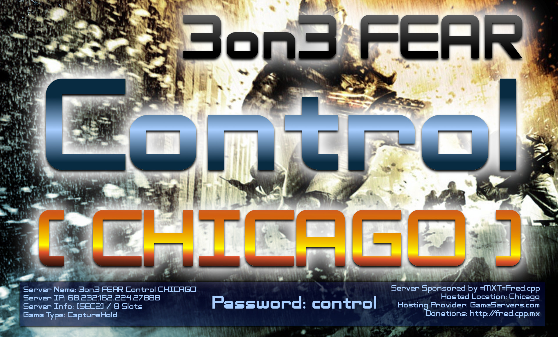 3on3 FEAR Control CHICAGO